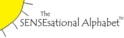 The SENSEsational Alphabet Series Logo
