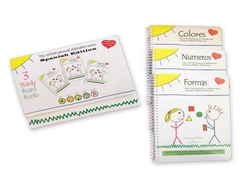 SENSEsational Alphabet 3-Pack – Spanish